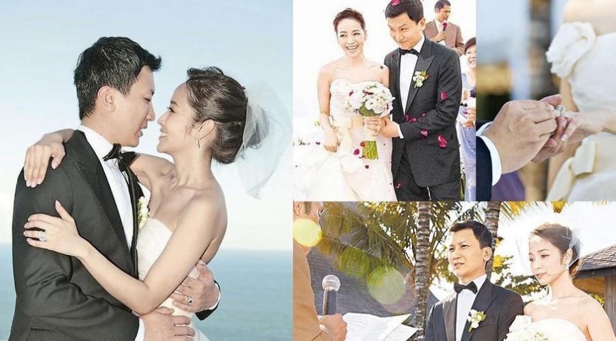 姚晨婚纱照曝光 王薇薇成全球最热婚纱设计师