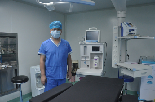 国际化无菌手术室,流一滴汗都有严格要求!